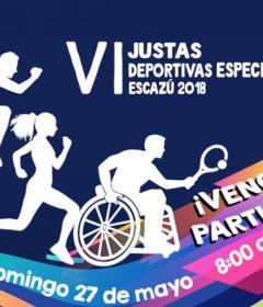 Justas Deportivas Especiales de Escazú - 2018