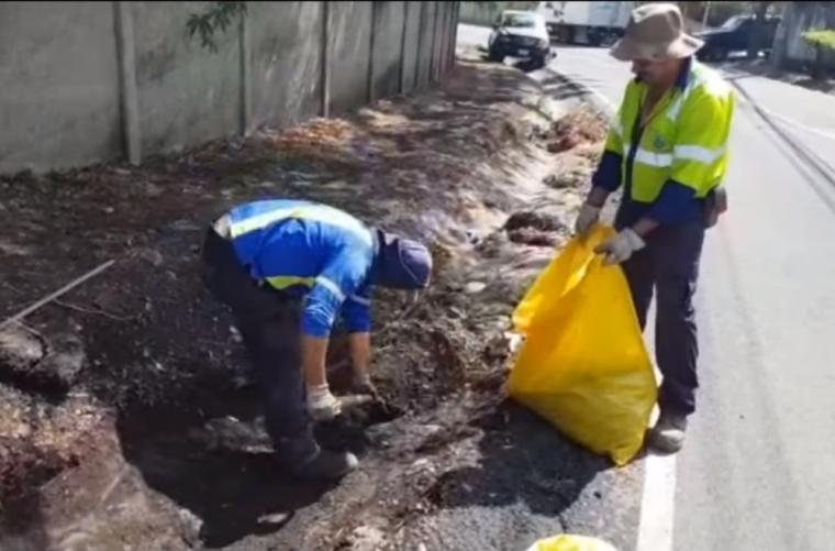 Limpieza del sistema de alcantarillado pluvial - Escazú - Mayo 2020