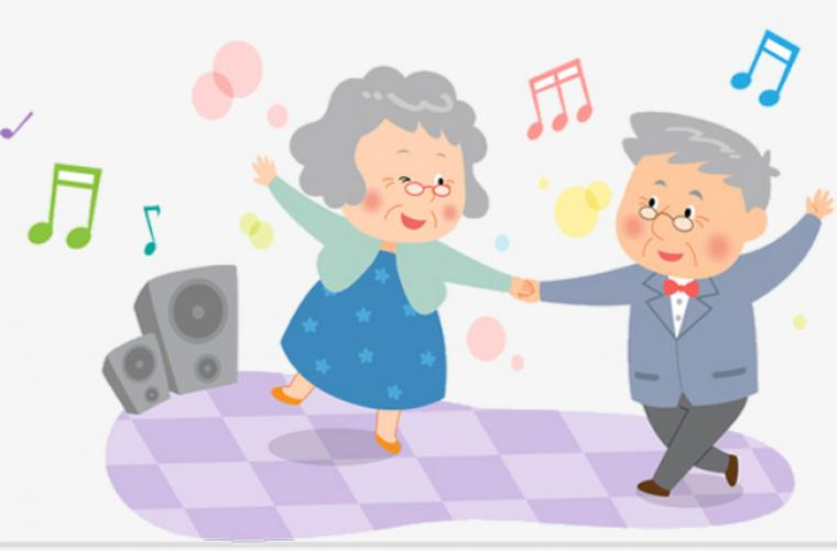 Baile para personas Adultas Mayores - Octubre - 2018