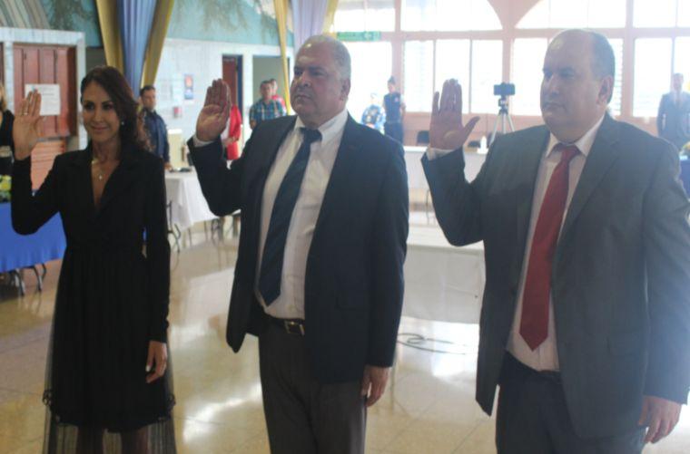 Nuevas autoridades locales en Escazú - 2020