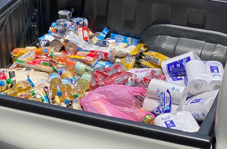 scazuceños pueden ver a través de plataforma web los lugares donde son entregados los paquetes de alimentos