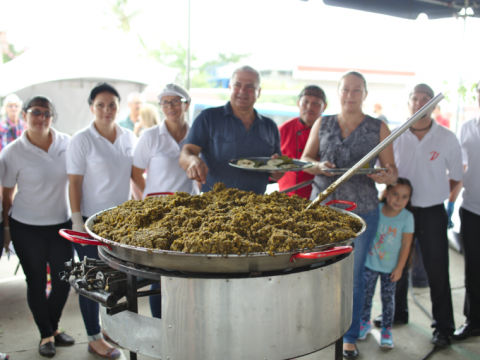 Tradicional Picadillo de Chicasquil más grande de Costa Rica - 2018
