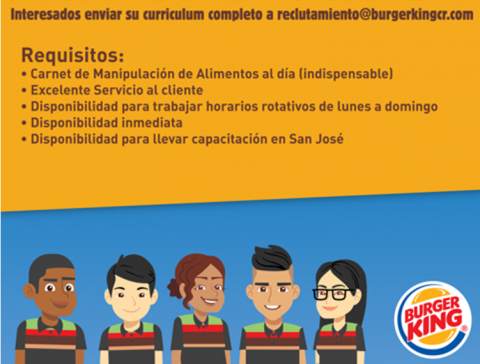 <em>Editar Noticia</em> Burger King