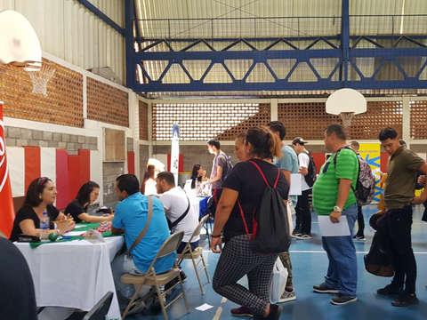 Feria de empleo organizada por la Municipalidad de Escazú - Octubre - 2019