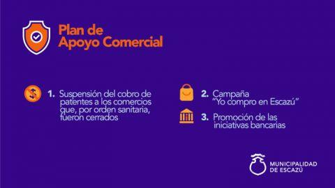 Plan de Apoyo Comercial - Escazú - 2020