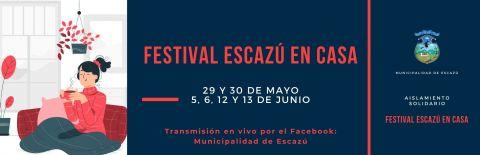 """Festival """"Escazú en Casa"""" busca llevar diversión a muchos hogares y trabajo a otras familias"""