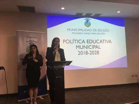 <em>Editar Noticia</em> Escazú es el primer cantón en tener una Política Educativa Municipal