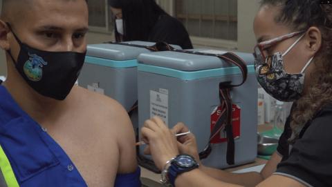 <em>Editar Noticia</em> Recolectores de residuos de Escazú recibieron la vacuna contra el COVID-19