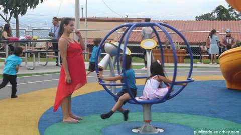 Escazú inaugura 18 parques infantiles - 2019